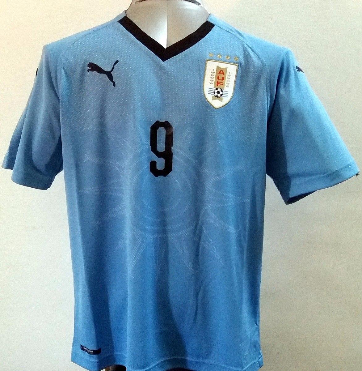 f09bb4fb72 camiseta uruguay oficial puma 2018 con numero y nombre. Cargando zoom.