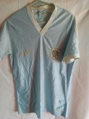 camiseta uruguay puma 1989 talle l