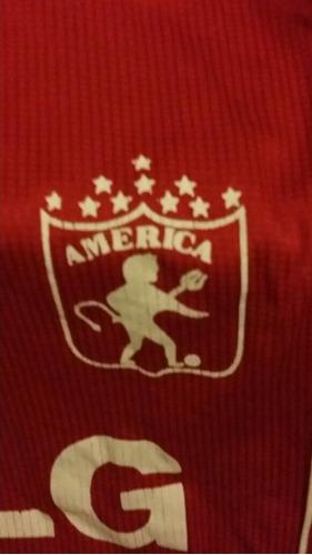 camiseta utileria américa de cali 2001 kappa.