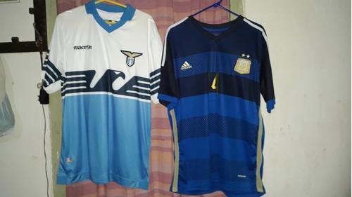 camisetas futbol originales usadas pero impecables.talle xl