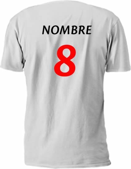 5609276859cc4 Camisetas Fútbol Para Tu Equipo Personalizadas -   240