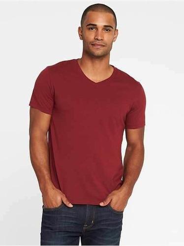 camisetas old navy con cuello en v suave tallas: xl,xxl,xxxl