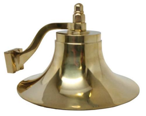 campana bronce 8 pulgadas nautica barcos soporte nueva