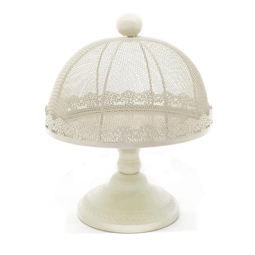 campana con pie de metal. diámetro 30 cm.