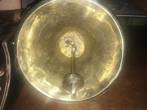 campana de bronce perdonalizada 20cm tipo antigua no chapa