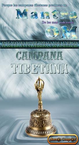 campana tibetana original, extra grande.