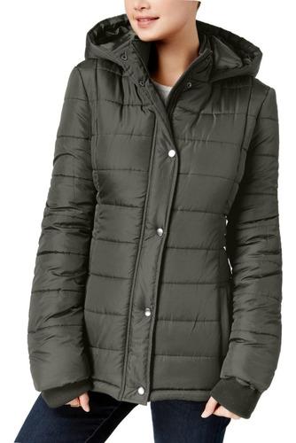 campera abrigo mujer con capucha invierno - 0514 - brandlet