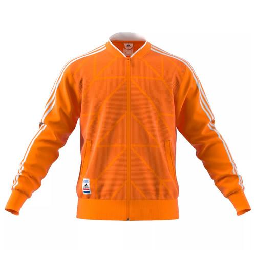 campera adidas holanda holland selección naranja de hombre