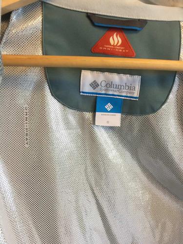 campera dama columbia, t s y m, tecnología omni-heat oferta!