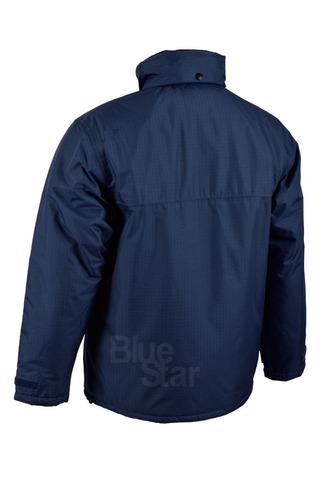 campera de abrigo blue star (azul marino)