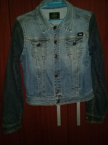campera de jean dama uniform