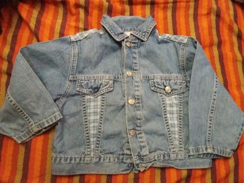 campera jeans de bebe