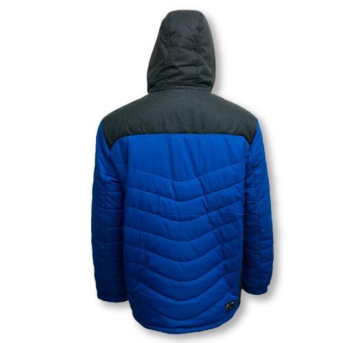 campera larga con capucha adulto peak timeout