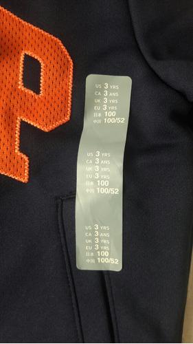 campera ropa deportiva infantil gap talle 3 y talle 5