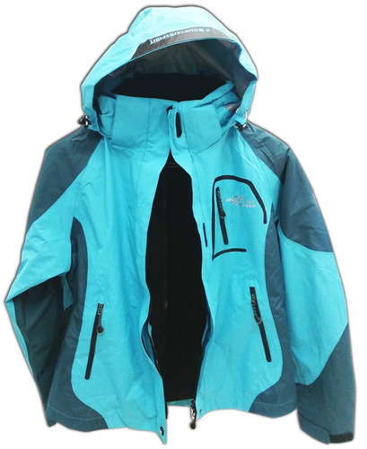campera x-mountain spirit 3 en 1 para damas