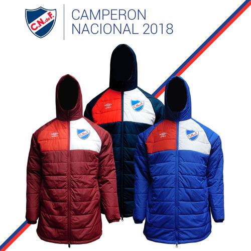 camperón campera umbro nacional 2018 + gorro regalo de niño