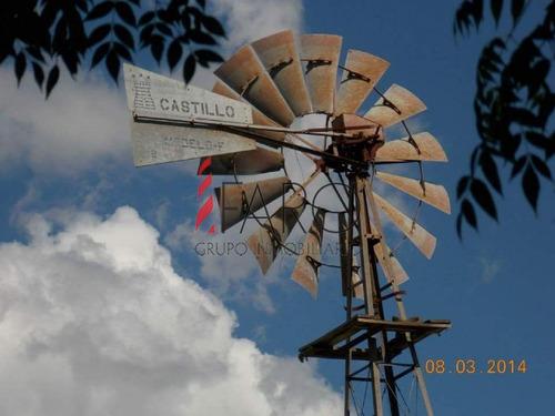 campo con estancia sobre río santa lucía en lavalleja 18 hectáreas - ref: 36035