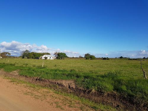 campo en paso del bote con casa y buena aguada  6 hectareas