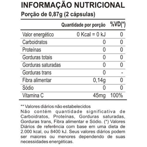 camu camu maxinutri - 60 cápsulas # antioxidante