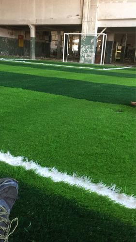 cancha de 500 m2 de sport césped de 5.5 mm nivel fifa