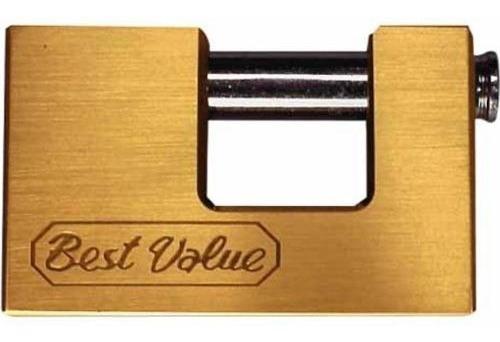 candado anti cizalla bronce 75mm best value g p