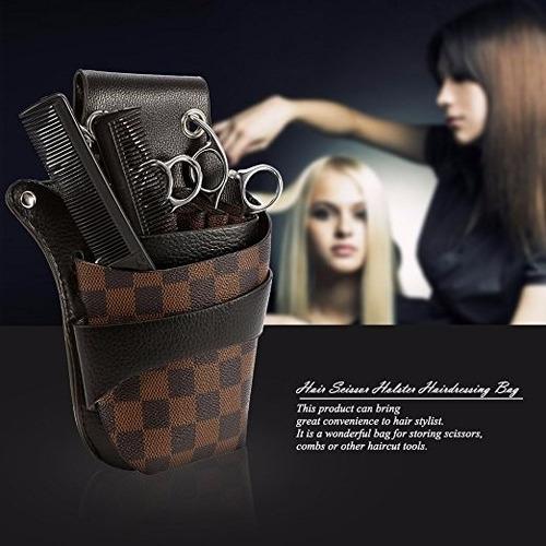 cangurera porta tijeras y accesorios barber estilista anself
