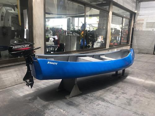 canobote canoa bote mercury pesca nautica sioux kayak bote
