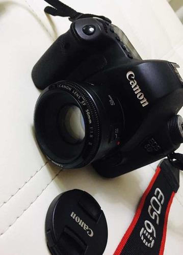 canon 6d con dos lentes
