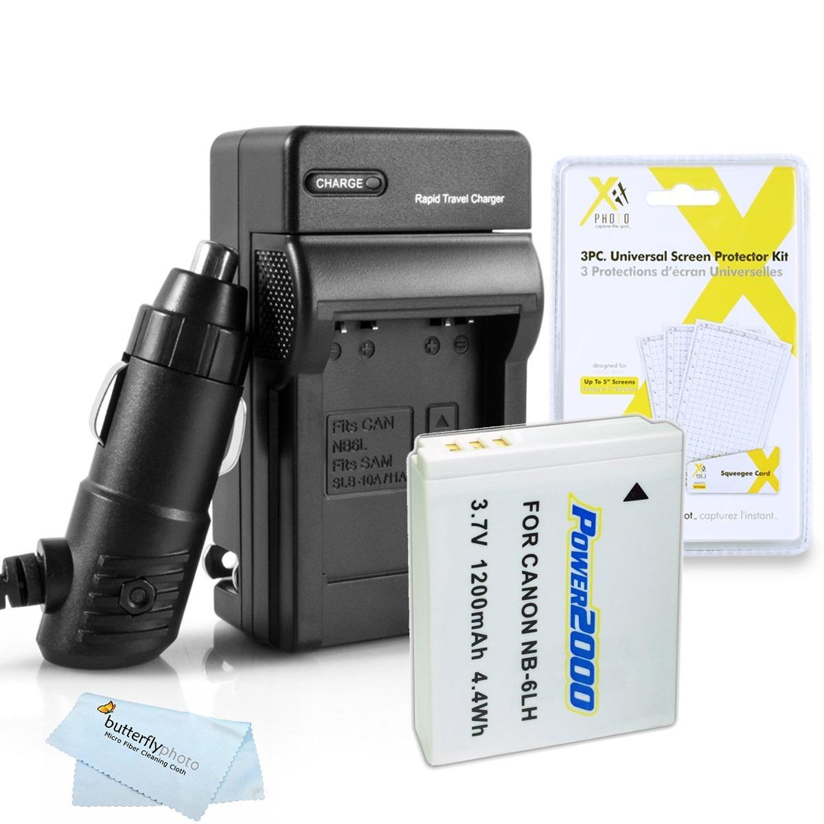 Batería de Repuesto para Canon PowerShot SX520 HS SX530 Hs Cámara 1000mAh