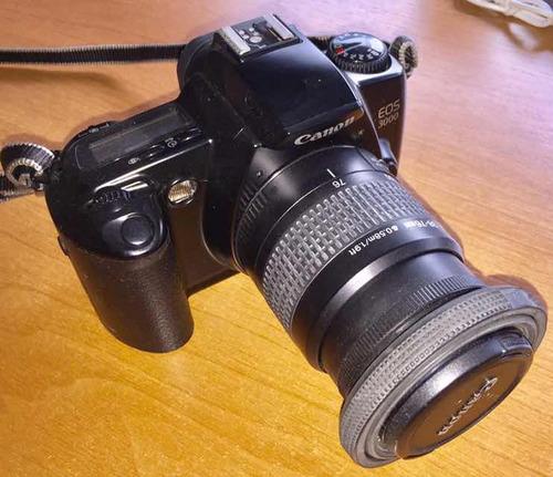 canon eos 3000 - film 35 mm - objetivo 38-76mm