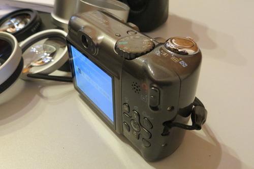 canon power shot a590 is - impecable con accesorios!!!