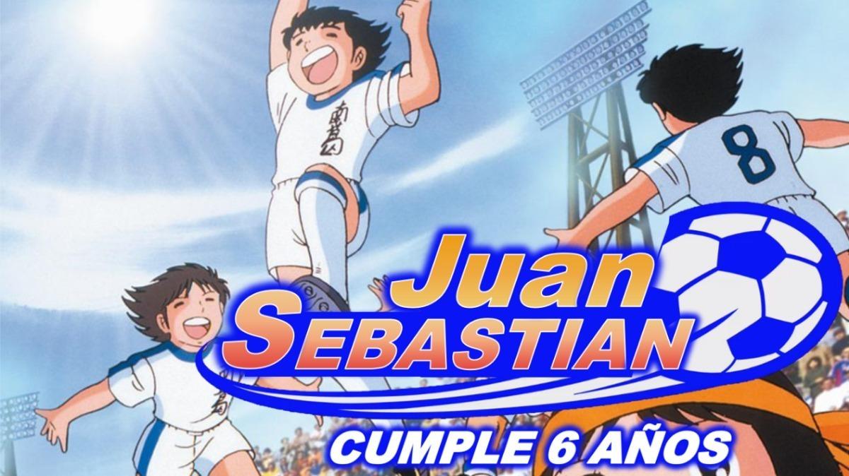 Capitan Tsubasa Tarjeta Invitación Digital Cumpleaños Vídeo