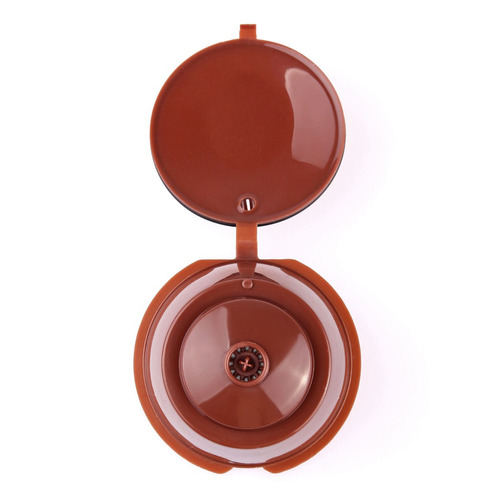 capsula nespresso dolce gusto recargable - pack 2 unidades