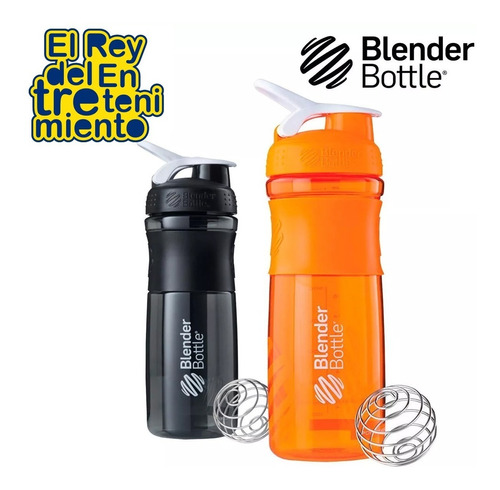 caramañola shaker p/ batidos deporte botella ciclismo el rey