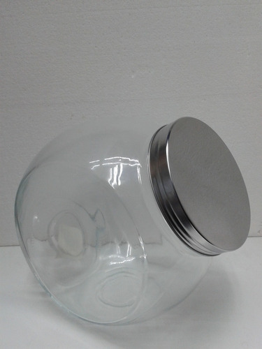 caramelera frascos vidrio grande 23 cm fiesta evento galleta