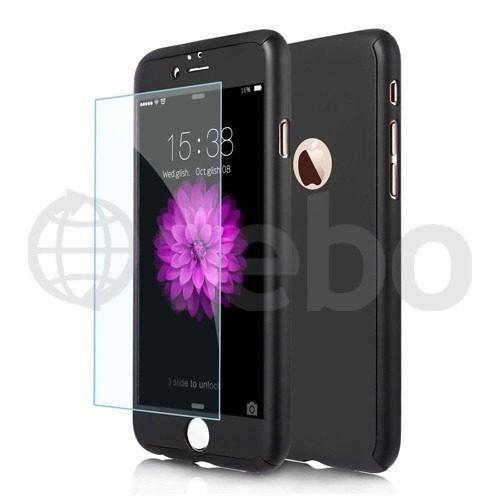 carcasa protector full 360 + vidrio templado iphone 6 6s