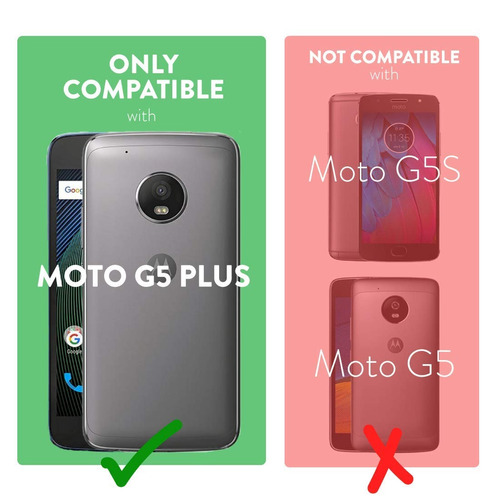 carcasa tudia moto g5 plus, slim-fit heavy duty [merge] p