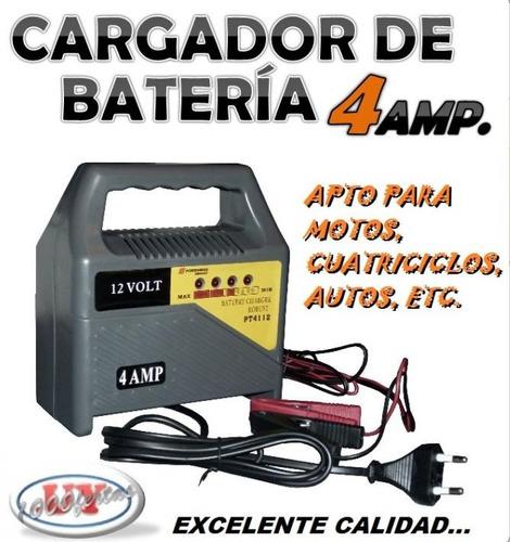 cargador bateria para auto