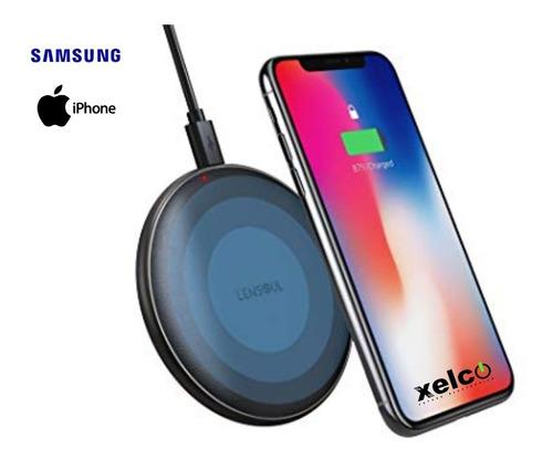 cargador inalambrico para iphone o samsung