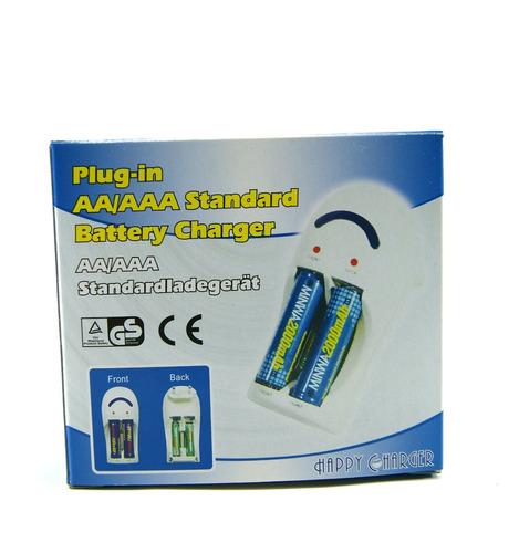 cargador pilas recargables aaa / aa