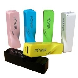 cargador portátil power bank 2600 mah