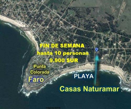 carnaval  01 al 05/03 media cuadra de playa p. colorada