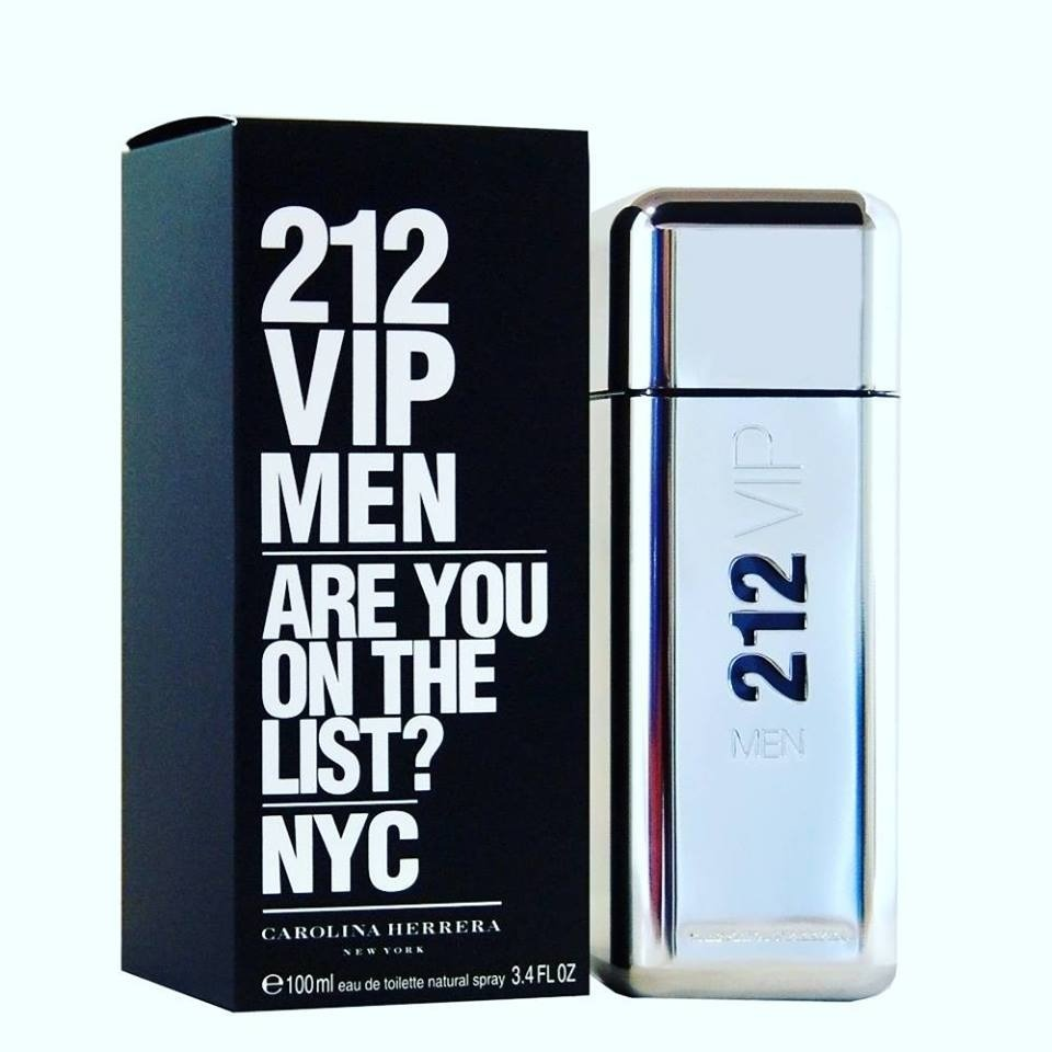 50 Ml Men Vip Carolina 212 Herrera TlcF1KJ