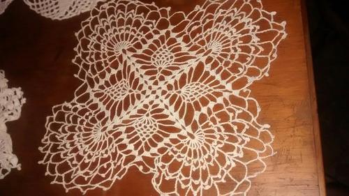Carpetas En Hilo. Crochet Ganchillo - $ 11,00 en Mercado Libre