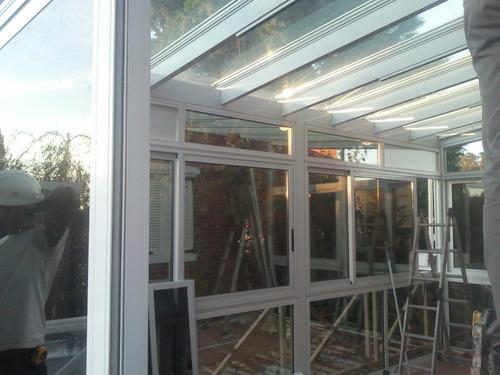 carpinteria de aluminio cerramientos ventanas mamparas