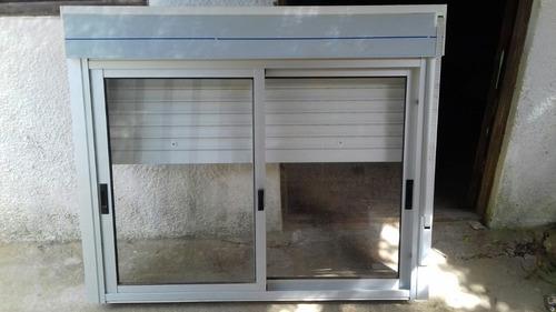 carpinteria y ventanas de aluminio.