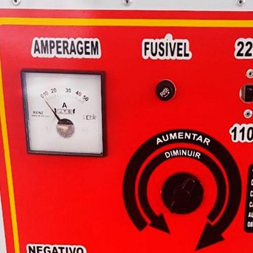 carregador de bateria 50 amperes (jts)