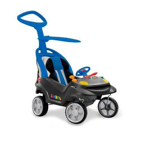 carrinho de passeio - smart baby comfort menino - bandeirant