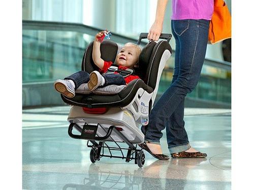 carrito de viaje para el asiento de seguridad britax