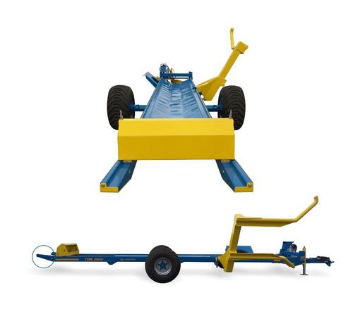 carro transportador de fardos autocargable hidrau j hartwich